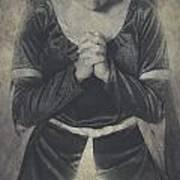 Prayer Print by Joana Kruse