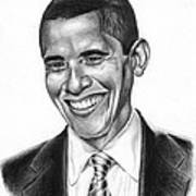 Presidential Smile Print by Jeff Stroman