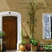 Provence Door 3 Print by Lainie Wrightson