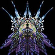 Psychedelic Spines Print by David Kleinsasser