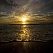 Puerto Rican Sunset II Print by Tim Fitzwater