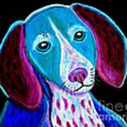 Puppy Love Print by Nick Gustafson