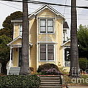 Quaint House Architecture - Benicia California - 5d18591 Print by Wingsdomain Art and Photography