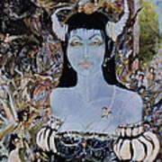 Queen Mab 1 Print by Jackie Rock