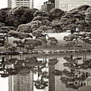 Quiet Moment In Tokyo Print by Carol Groenen