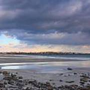 Quiet Winter Day At York Beach Print by John Burk