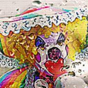 Rainy Day Clown Print by Steve Ohlsen
