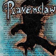 Ravenclaw Eagle Print by Jera Sky