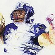 Ray Rice Print by Ash Hussein