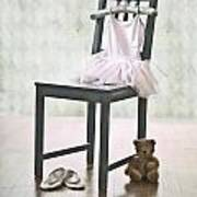 Ready For Ballet Lessons Print by Joana Kruse