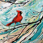 Red Fury Print by Cynara Shelton