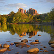 Red Rock Crossing Arizona Print by Tim Fitzharris