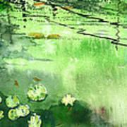 Reflections 1 Print by Anil Nene