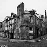 Regent Quay And Marischal Street Aberdeen Scotland Uk Print by Joe Fox