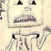 Robot Print by Odon Czintos