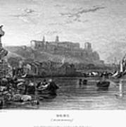 Rome: Aventine Hill, 1833 Print by Granger