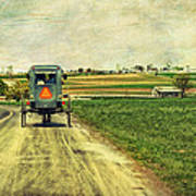Route 716 Print by Kathy Jennings
