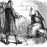 Salem Trials: Martha Corey Print by Granger