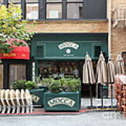 San Francisco - Maiden Lane - Mocca Cafe - 5d17788 Print by Wingsdomain Art and Photography