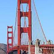 San Francisco Golden Gate Bridge . 7d8164 Print by Wingsdomain Art and Photography