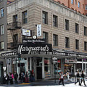 San Francisco Marquards Little Cigar Store Powell Street - 5d17950 Print by Wingsdomain Art and Photography