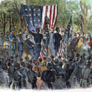 Sc: Emancipation, 1863 Print by Granger