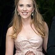 Scarlett Johansson Wearing A Miu Miu Print by Everett