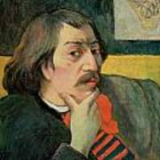 Self Portrait Print by Paul Gauguin