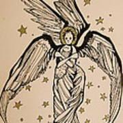 Seraphim Print by Jackie Rock
