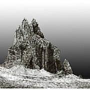 Shiprock Mountain Four Corners Print by Jack Pumphrey