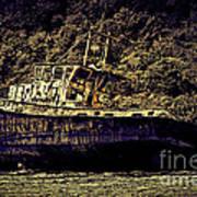 Shipwreck Print by Tom Prendergast
