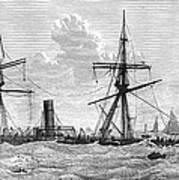 Shipwrecks, 1875 Print by Granger