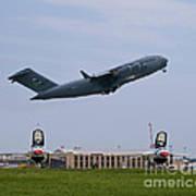 Short Field Takeoff Print by Tim Mulina