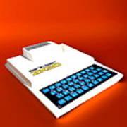 Sinclair Zx80 Personal Computer Print by Christian Darkin