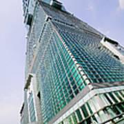 Skyscraper, Taipei 101 Building Print by Jeremy Woodhouse