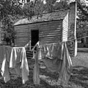 Slave's Quarters Print by Bourbon  Street