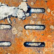 Snow On Ground Print by Silvia Ganora