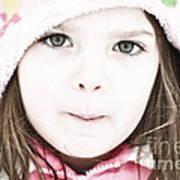 Snowy Innocence Print by Gwyn Newcombe