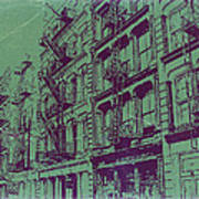 Soho New York Print by Naxart Studio