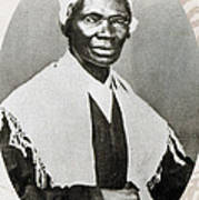 Sojourner Truth, African-american Print by Photo Researchers