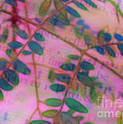 Song Of The Honey Locust Print by Judi Bagwell