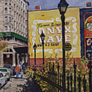 Spring Street At Basin Park Print by Sam Sidders