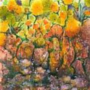 Spring Time Flowers Print by Audrey Peaty