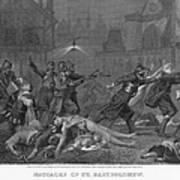 St Bartholomews Massacre Print by Granger