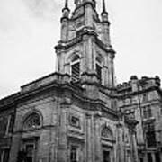 St Georges-tron Church Nelson Mandela Place Glasgow Scotland Uk Print by Joe Fox