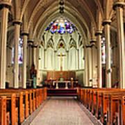 St. Mary's Basilica Halifax Print by Kristin Elmquist