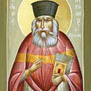 St Nicholas Planas Print by Julia Bridget Hayes