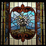 Stained Glass Lc 20 Print by Thomas Woolworth