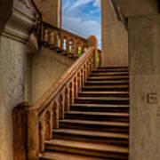Stairway To Heaven Print by Adrian Evans
