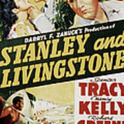 Stanley And Livingstone, Spencer Tracy Print by Everett